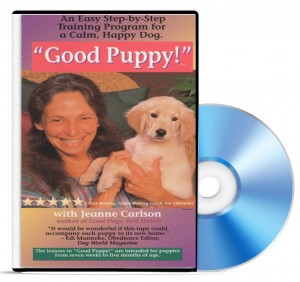 """Good Puppy!"" by Jeanne Carlson, DVD Training Video"