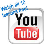 Watch all 10 puppy-training lessons free on YouTube!